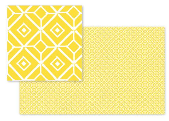 fabric - Bold Tiles by Erica Krystek