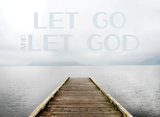 art prints - Let Go & Let God by Shelley Ruffing
