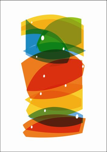 art prints - colorful fishes by Branislava Balaz