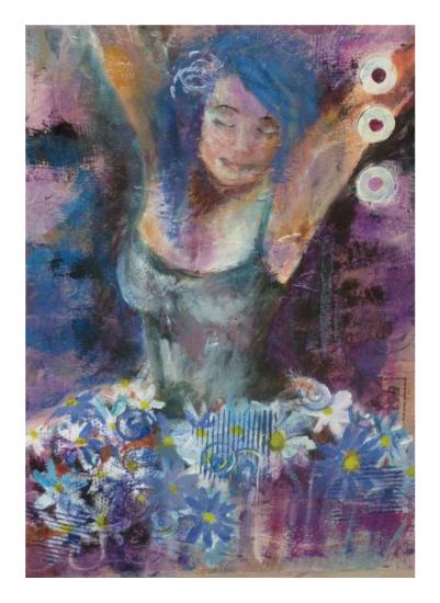 art prints - Ballerina by Leah Sherman