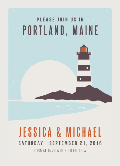 cards - Lighthouse Maine by Kampai Designs