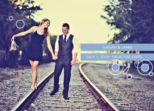 cards - Whimsy-Photo-Save The Date by Ten