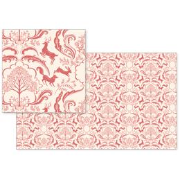 fabric - Woodland Damak by Pimlada Phuapradit