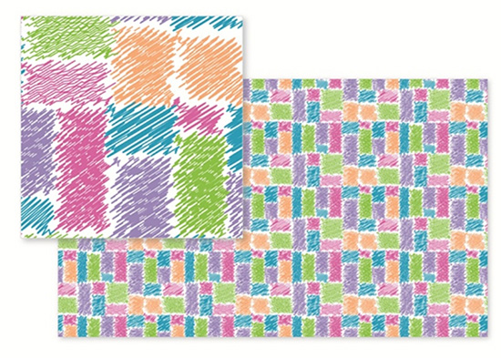 fabric - Scribble Shape by Abhilasha Agrawal
