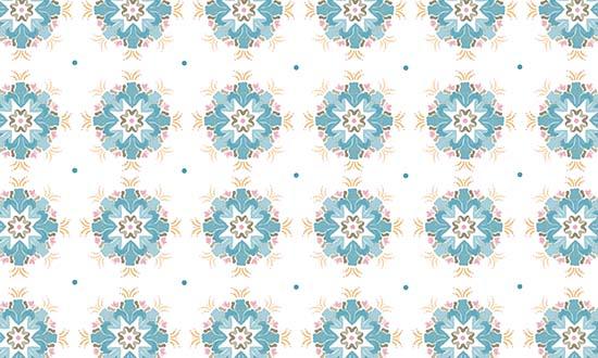 fabric - Vintage Kaleidoscope by Cara Van Valkenburg
