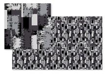 Grey Abstract pattern by Abhilasha Agrawal