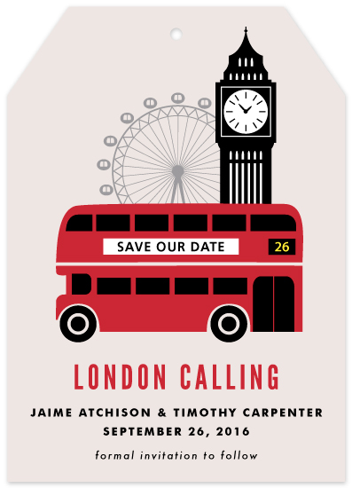 cards - London Calling by Kampai Designs