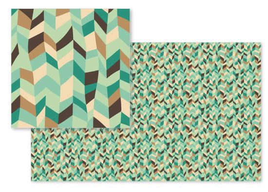 fabric - Pistachio Gelato by Damaris Kolozsvari