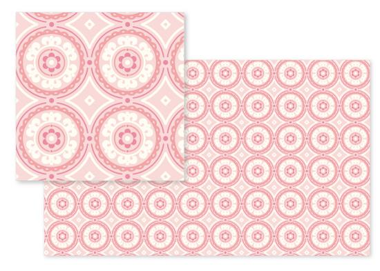 fabric - Simply Sweet Medallion by Lindsay Braithwaite