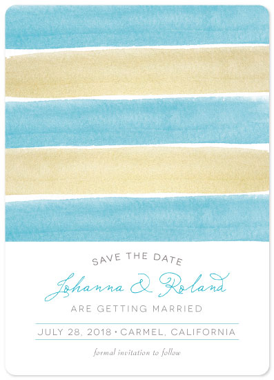 cards - Charming Seaside Stripes by The Spotted Olive