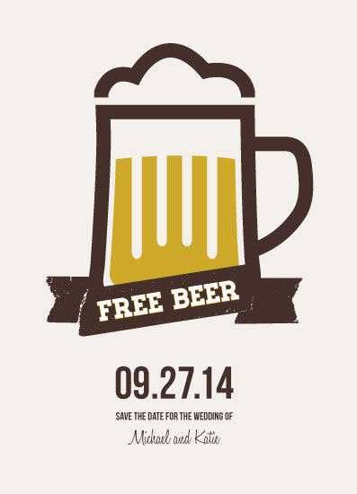 cards - Free Beer by Ashley Southern