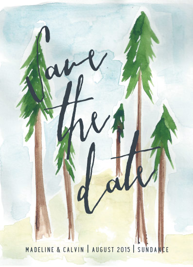 cards - Tall Trees by Mere Paper