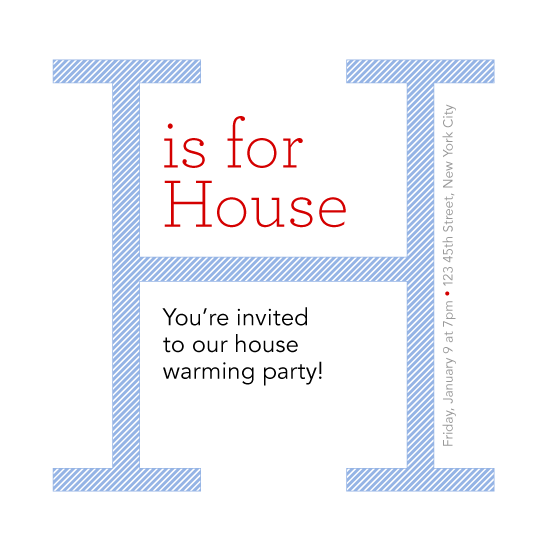 cards - H is for House by PaperLovePixels