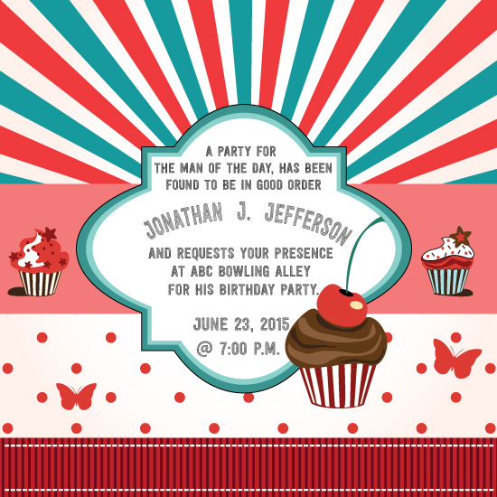 cards - Cupcake Birthday Confection by Jason Shurb