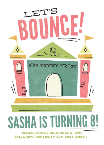cards - Let's Bounce by Jessie Steury