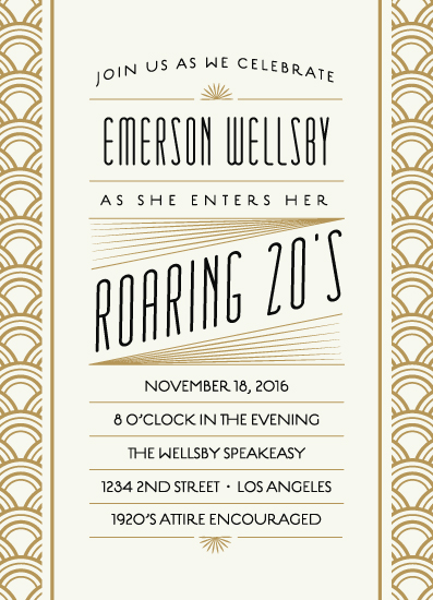 cards - Roaring 20s Birthday Bash by Leah Bisch