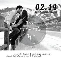 Love Is In The Air - Love Party