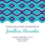 Baptism Patterned Invit... by Lauren Sumner