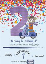 2nd Birthday Party Invi... by Jason Shurb