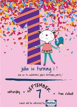 1st Birthday Party Invi... by Jason Shurb