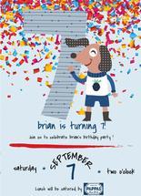 7th Birthday Party Invi... by Jason Shurb