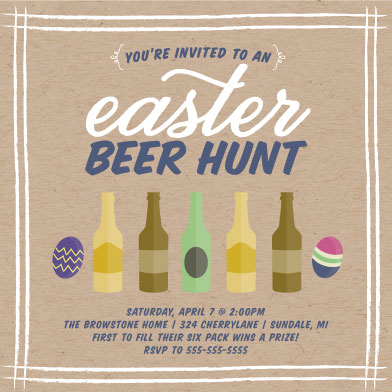 cards - Easter Beer Hunt by Sarah Elizabeth