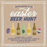 Easter Beer Hunt by Sarah Elizabeth