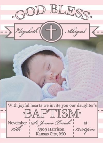 cards - God Bless Baptism by Katelyn