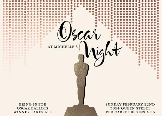 cards - Oscar Night! by Katherine Soares