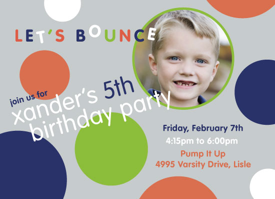cards - Let's Bounce Around by Erin German Design
