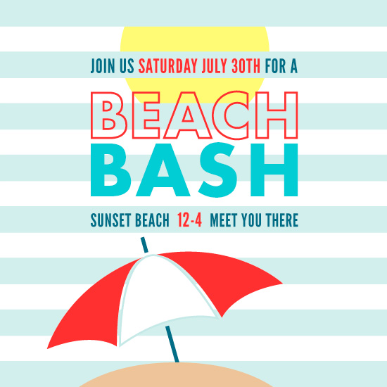 cards - Sunny Beach Bash by Katelyn Bishop