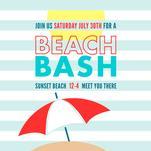 Sunny Beach Bash by Katelyn Bishop