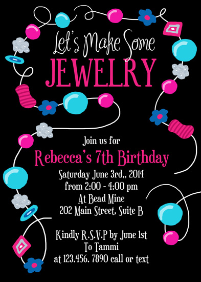 cards - Let's Make Some Jewelry by Rebecca Whitehead