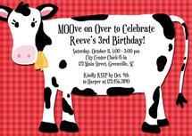 Have a Cow Party Invita... by Rebecca Whitehead