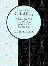 Art Deco Cocktail Party by Chelsea Cates
