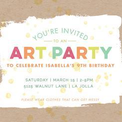 Festive Art Party
