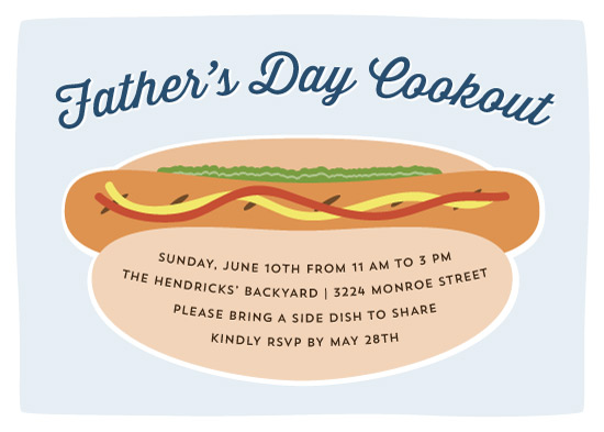 cards - Father's Day Cookout by Dulce Dahlia