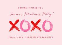 xoxo valentines by Jessica Lucas Collom