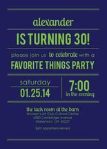 Big Bold Birthday Invit... by Lisa Langenhop