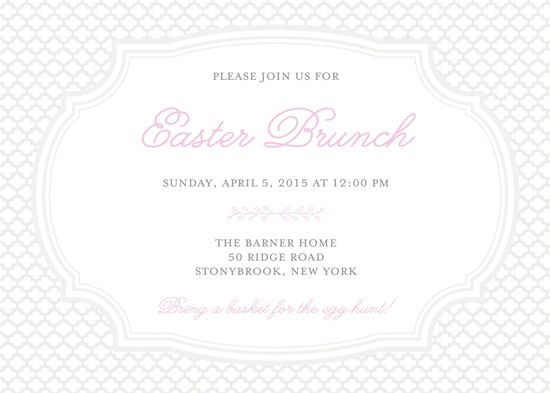 cards - Pretty in Pink Brunch by Gray Star Design