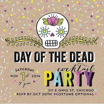Day of the Dead Cocktail Party