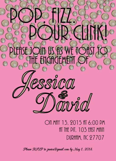 cards - Pop.Fizz.Pour.Clink! by Jessica Tarter