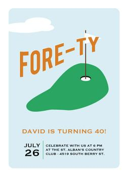 Fore-ty