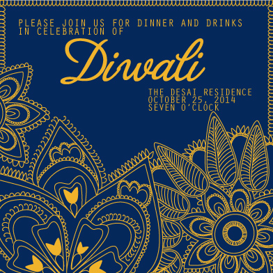 cards - Diwali - Festival of Lights by Pooja Dharia