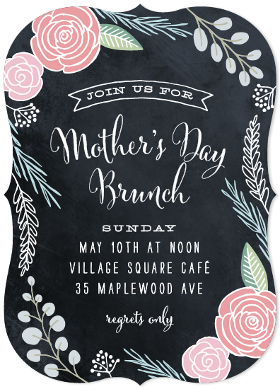 cards - Mother's Day Garden Brunch by Hooray Creative