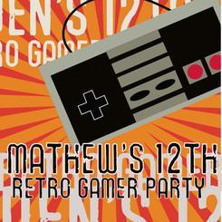 Retro Gamer Birthday