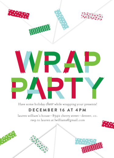 cards - Wrap Party by Abby Munn