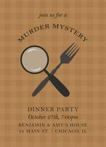 Mystery Dinner Party by Monica Francis