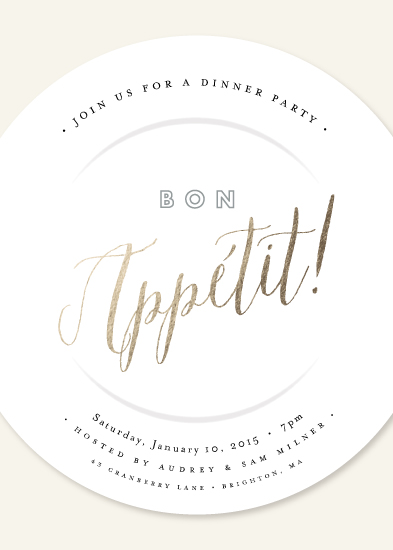 cards - bon appétit! by Jennifer Wick