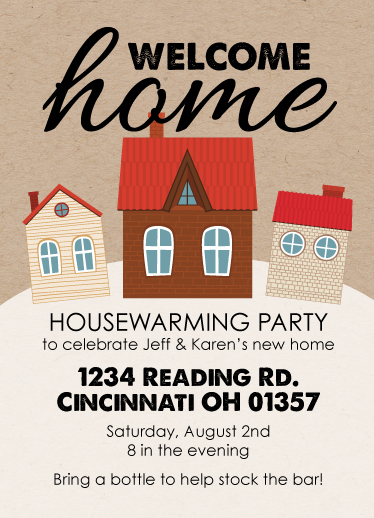 cards - Welcome Home Housewarming by Shelley Ruffing